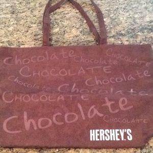 Hershey chocolate tote bag, new, from Hershey PA